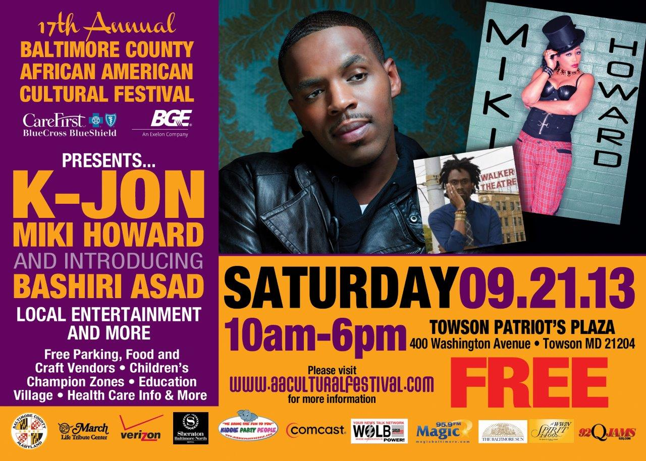 Baltimore County African American Cultural Festival